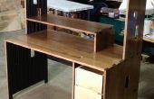 Massivem Holz Computertisch für nur $50 im Material!