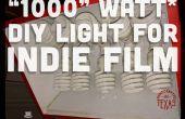 """""""1000"""" Watt DIY Licht für Indie-Film und Fotografie"""