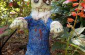 Halloween Zombie Gartenzwerg
