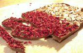 Machen Sie Ihre eigenen leckeren Teller mit Schokolade