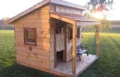 Build A Western Saloon Kid es Fort mit Standard Zaun Bretter