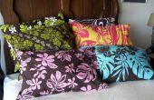 Einfach Kissenbezüge - verschönern Sie Ihr Schlafzimmer!
