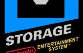NES Patrone Festplatte und Konsole Dock