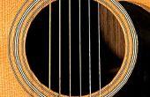 Wie man Gitarre spielen: lernen Sie Ihre Gitarre kennen.