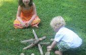 Camping mit Kindern zu tun