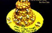 Der Karottenkuchen Walnuss Honig Biene Bienenstock
