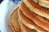 Pfannkuchen für das Kochen beeinträchtigt