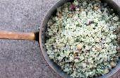Gerste-Salat mit Kichererbsen und Feta