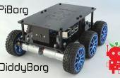 DiddyBorg: Die Mini-6 Rädern Raspberry Pi Roboter!