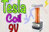 Wie erstelle ich einen Mini-Tesla-Spule 9V