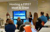Hosting ein erstes treffen & grüßen