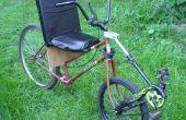 Front-Wheel-Drive Center-Steer Semi-Recumbent Fahrrad