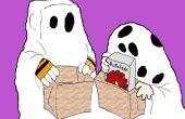 Gewusst wie: zeichnen The Iblesnuts Gang für Halloween