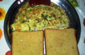 Instant Nudeln Omelett