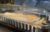 Solar Kochen Blätterteig