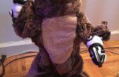 Intel Edison angetrieben zu Fuß Teddybär