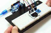 Im Zusammenspiel mit einem OLED- und ein Beschleunigungssensor