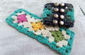 Austauschbare Granny Square Armband