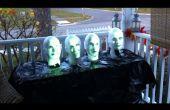 Arduino powered Haunted Mansion singende Büsten