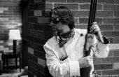 Steampunk 6 Lauf Volley Gun Prop