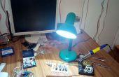 Alte Lampe neu zu beleben! [DIY LED Desklamp]