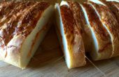 Geflochtene Brot