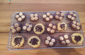 Vanille und Schokolade Kekse