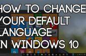 Gewusst wie: ändern Sie die Standardsprache In Windows 10