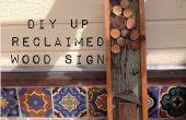 DIY zurückgefordert Holz Zeichen Vintage (inspiriert),