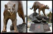 Erstellen einer Universität Denkmal und Replica Bronzen