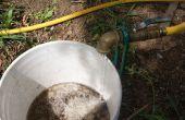 Schwerkraft-gefütterten regen Barrel Outlet
