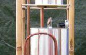 Allen Hydrautomat, ein Arbeitsmodell Farbe Zinn.