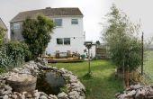 Wie erstelle ich einen erhöhten Teich und Steingarten