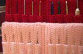 Gehäkelt, Crochet Hook Aufbewahrungskoffer
