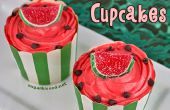Wassermelone Cupcakes