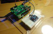 CoPiino läuft kleine I2C OLED-Display