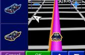 Animierte GPS-Batmobil Symbol 2.0: die 3d Art