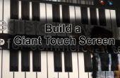 Wie erstelle ich einen riesigen Touchscreen