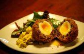 Chirizo und Blackpudding Scotch Ei