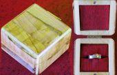 Erstellen Sie eine Ring-Box aus Holz verschrottet