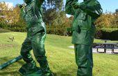 Kunststoff-Spielzeug-Soldaten