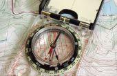 Gewusst wie: Navigieren mit Karte und Kompass