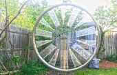 Fahrrad-Rad Windmühle