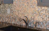 Heimwerken: Gewusst wie: installieren Metall Mosaik Wandfliesen (Edelstahl, Aluminium,...)