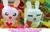 Gewusst wie: Cony Kaninchen 3D Origami zu machen