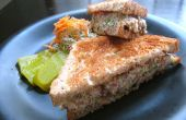 Hähnchen-Salat-Sandwich