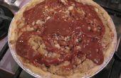 Caramel Apple Pie mit hausgemachtem Karamell