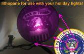Benutzerdefinierte glühende 3D-Druck Ornamente