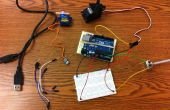Arduino + Servo + Potentiometer