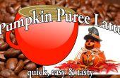 Hausgemachte Pumpkin Spice Latte